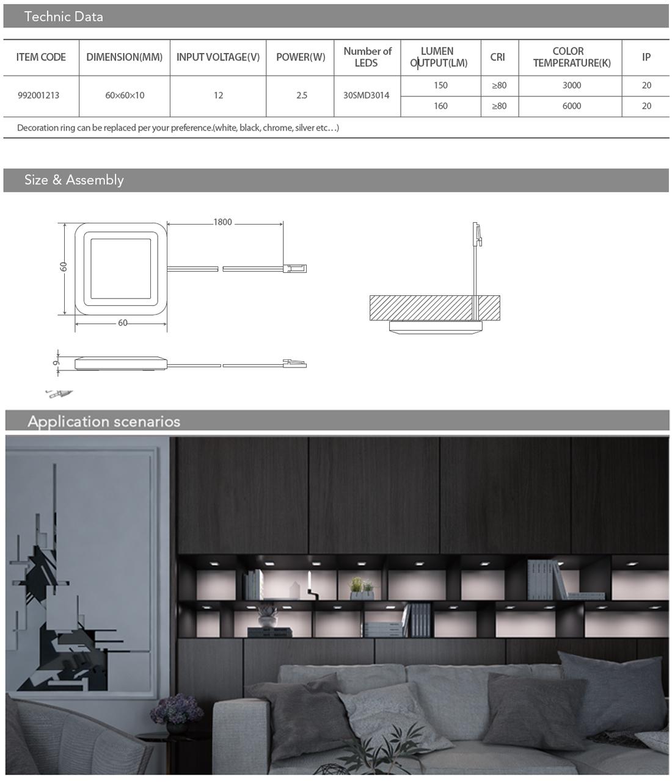 spot lighting details