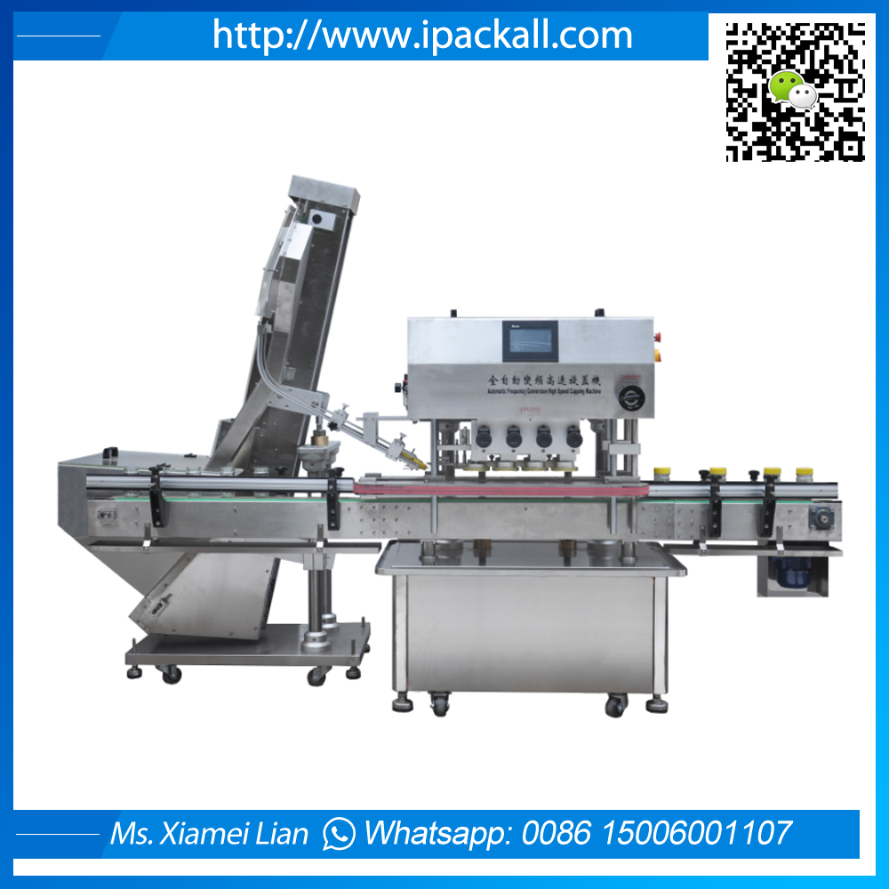 Full-automatic  Cap Sorter and Capping Machine