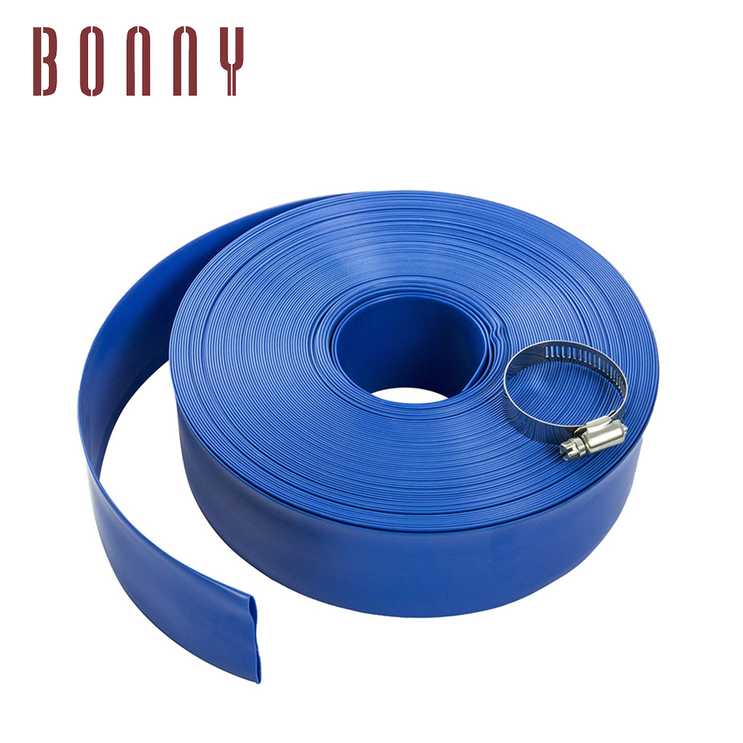 "plastic blow molded flexible pe vacuum cleaner backwash 2"" pool hose for swimming pool"