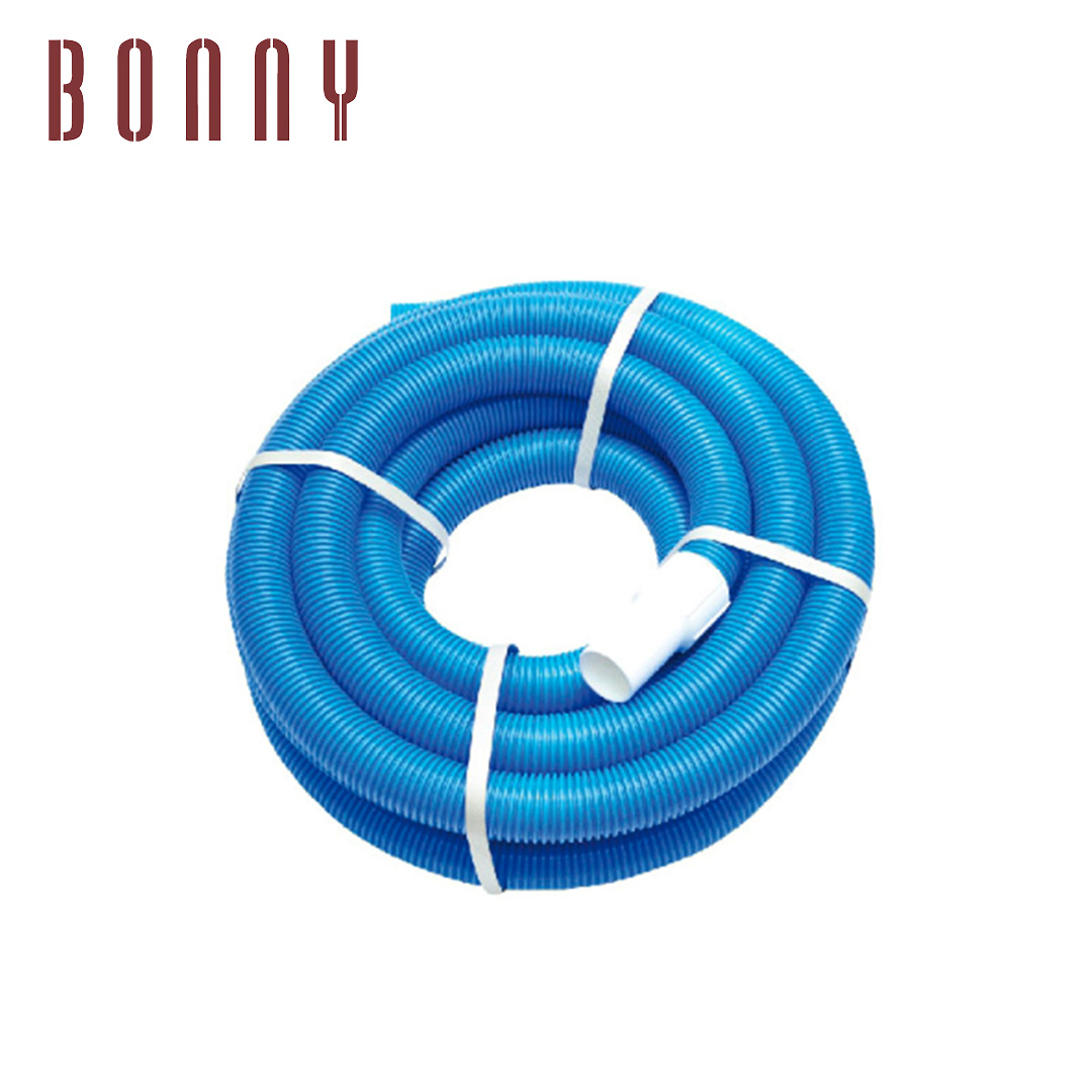 Professional Heavy Duty Spiral Wound Swimming Pool Vacuum Hose with Swivel Cuff