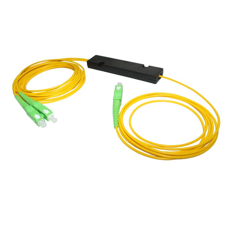 PLC Splitter 1*2 SM G657A SC/APC ABS Box Type
