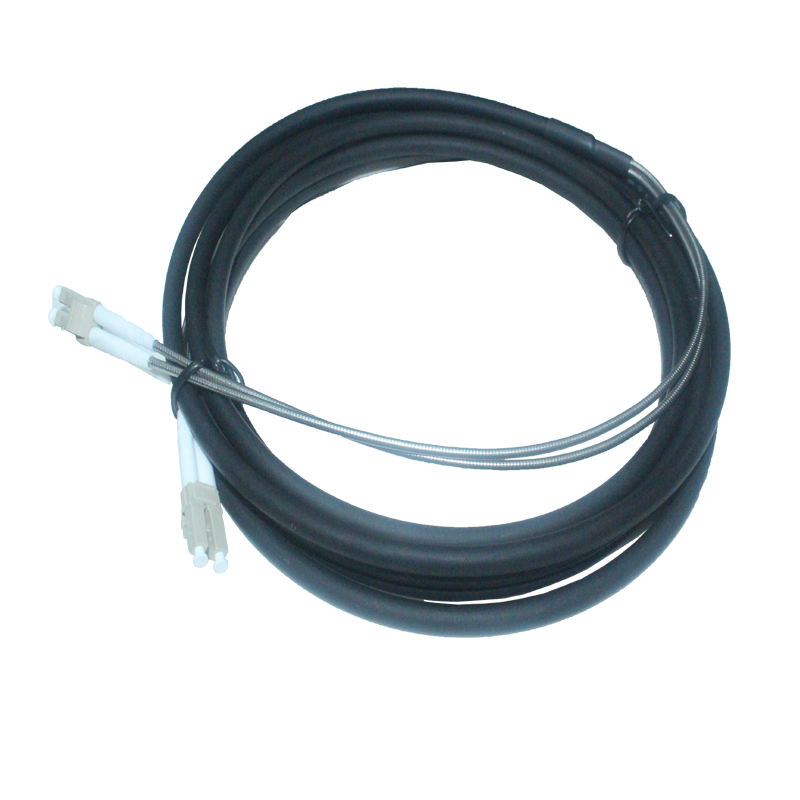 FTTA Outdoor Cable CPRI Armored LC Duplex Fiber Patchcord 7.0mm
