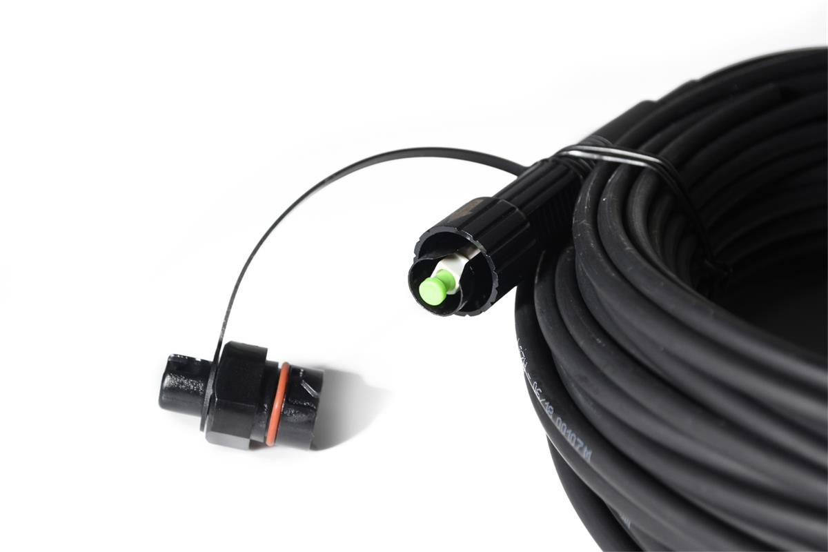 FTTA Outdoor Cable IP68 Mini SC/APC Assembly