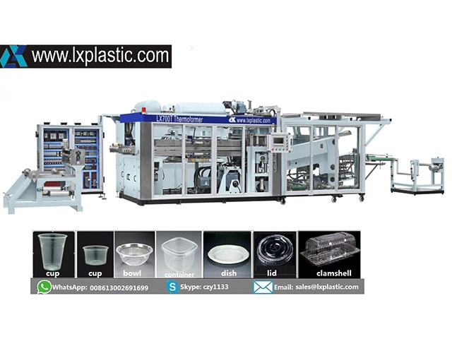 LX700-T-S full servo thermoforming machine