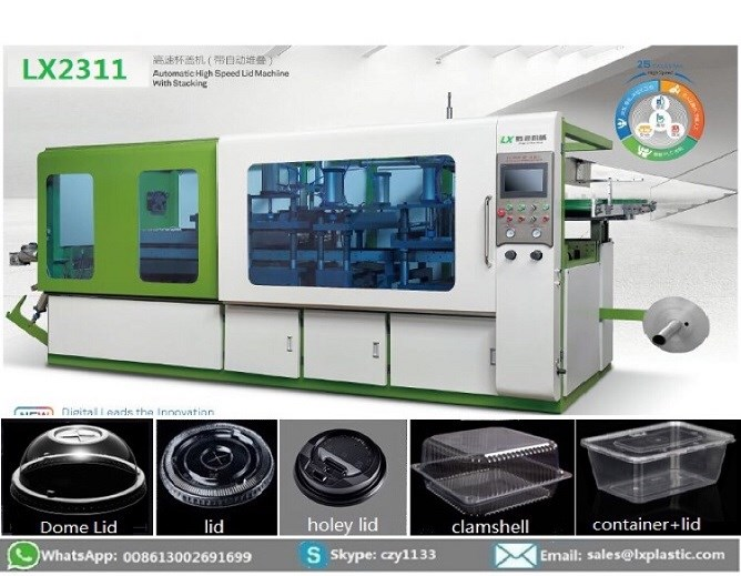 LX2311-HCP 3in1 thermoforming machine