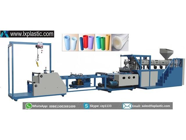LX800-1-HC mono layer PP PS sheet extrusion line