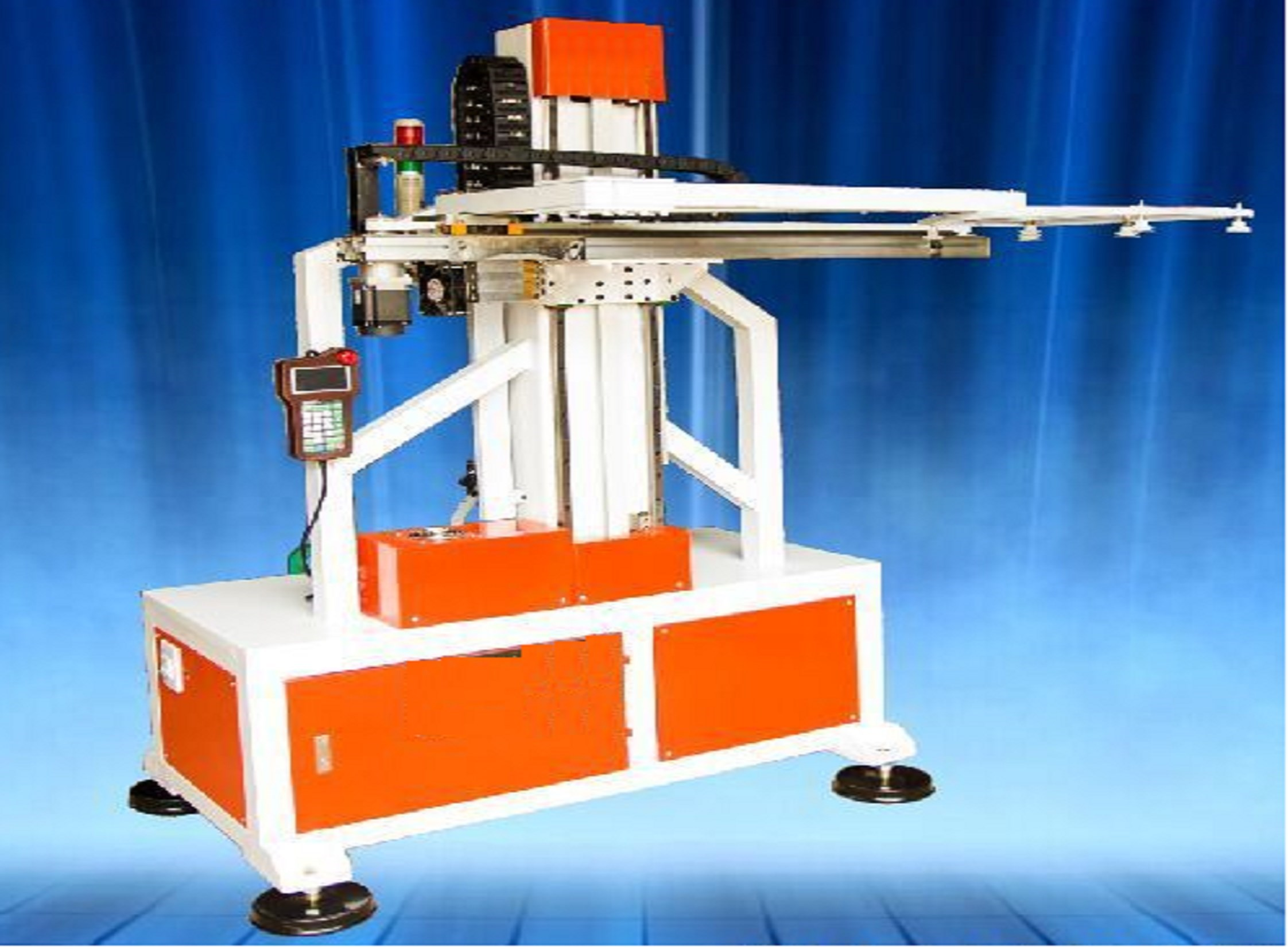 Robot Stacker for cup lid tray and container