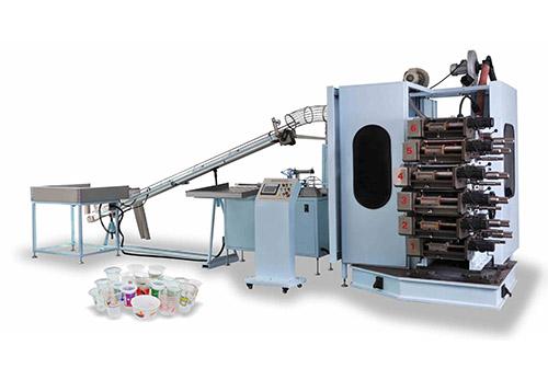 GR- 6-180 6-color offset Cup printer