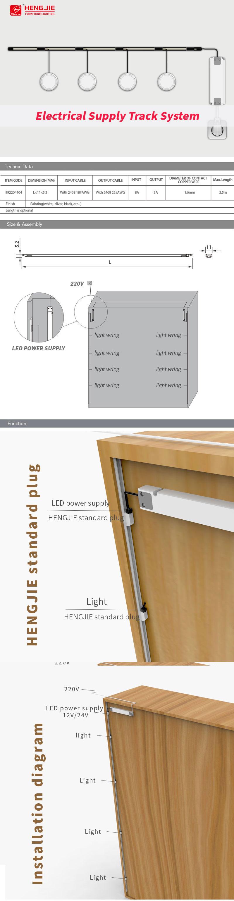 wholesale display shelf,display cabinet,display shelf LED Light/Electrical Supply Track System,cooler light supplier&manufacturer,china oem cooler light factory