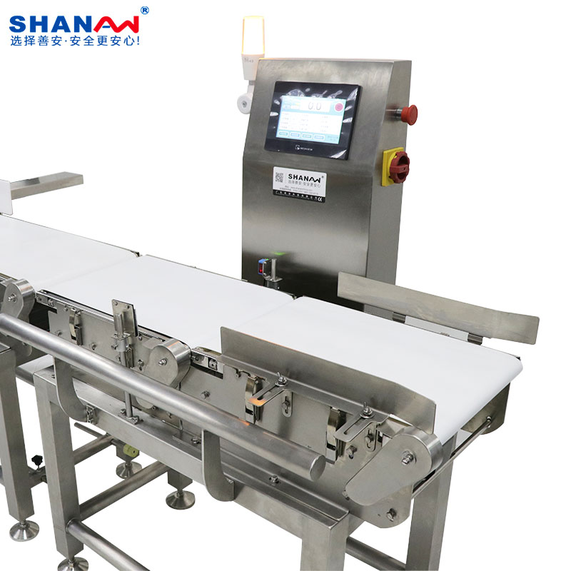 Automatic checkweigher for food