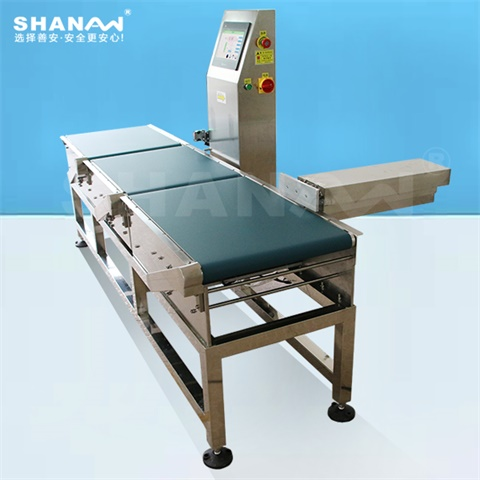Automatic online checkweigher for food