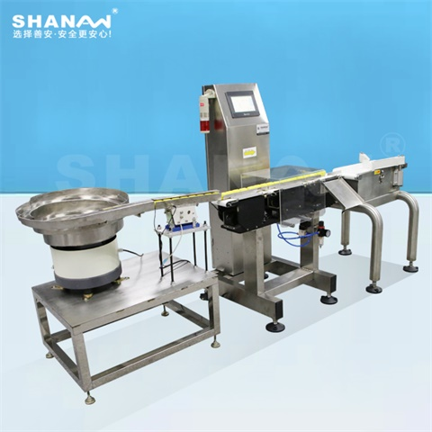 High precision weight sorting machine for pharmaceutical, food, beverage, electronics, health care products, daily chemicals