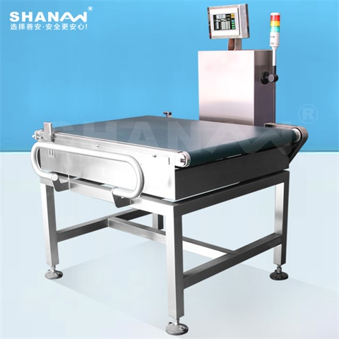 Automatic online checkweigher for pharmaceuticals, daily chemicals, aquatic products, poultry, food, chemicals, batteries