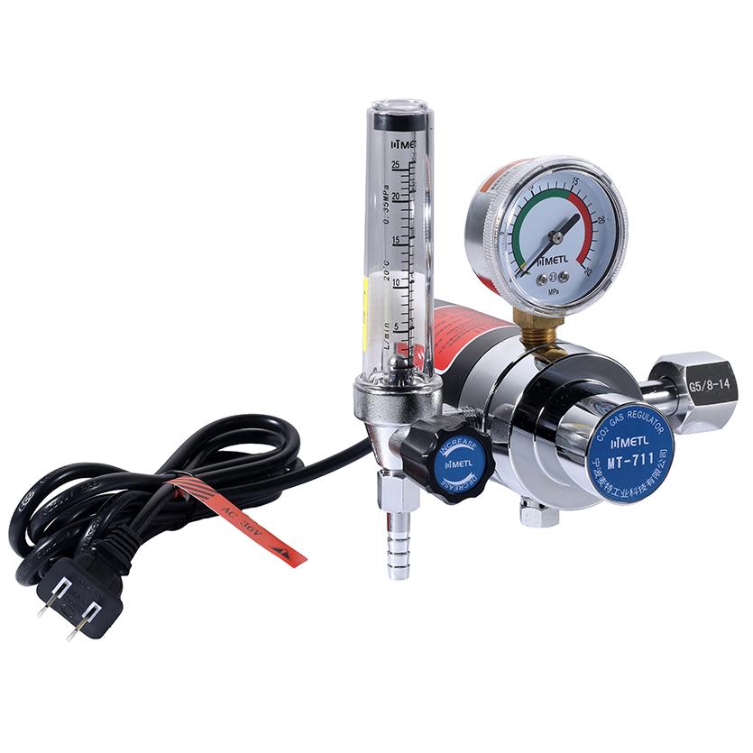 MT-711 Electric Heated Flowmeter Regulator