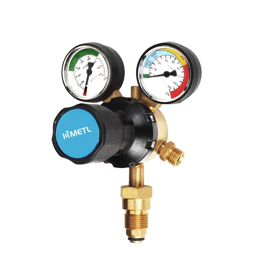 nitrogen gauge regulator for hvac