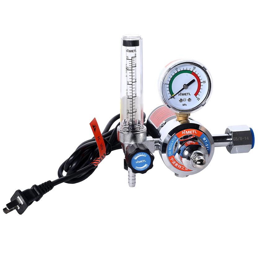 MT-511 Electric Heated Flowmeter Regulator