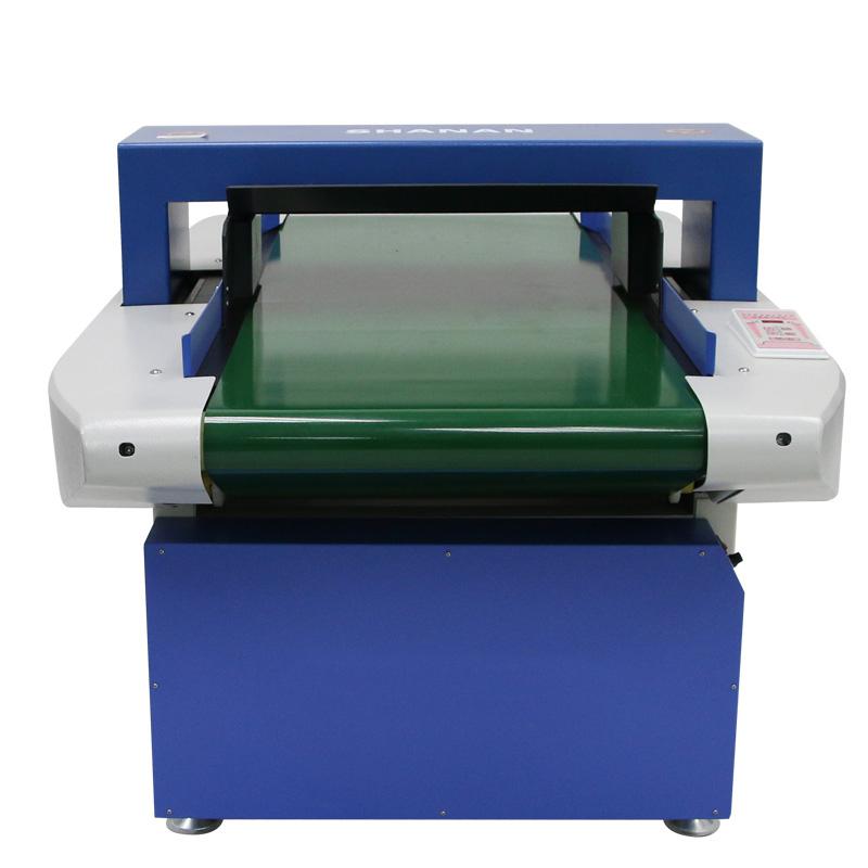 High Accuracy Double Sensors Conveyor Needle Metal Detector