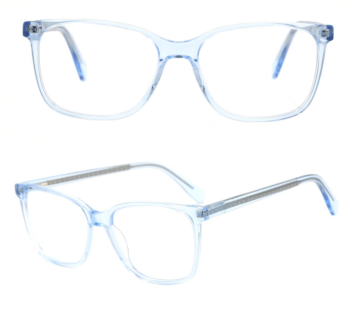 Clear Acetate Glasses Frames Wholesale,Transparent Optical Frames Manufacturer