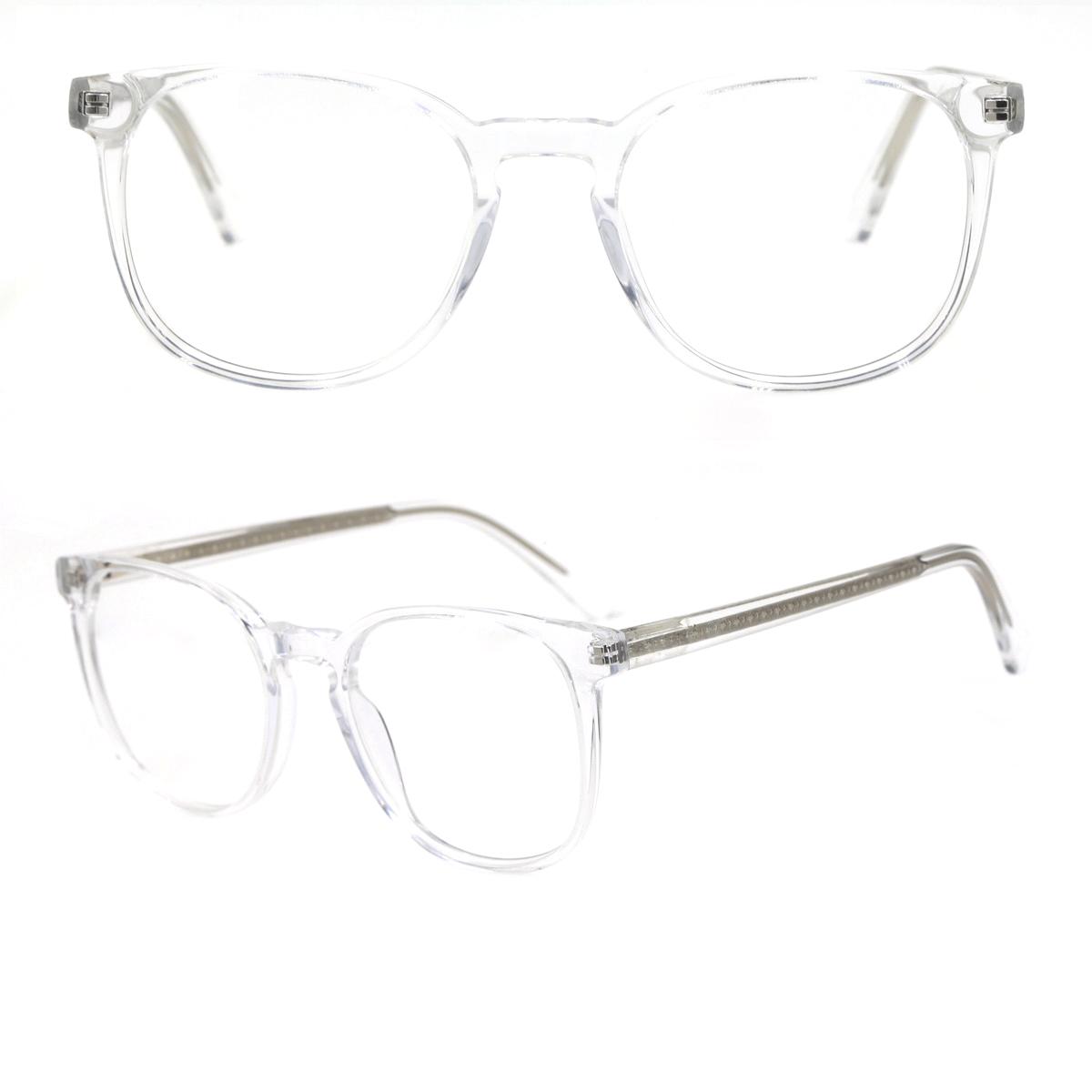 clear acetate glasses frames