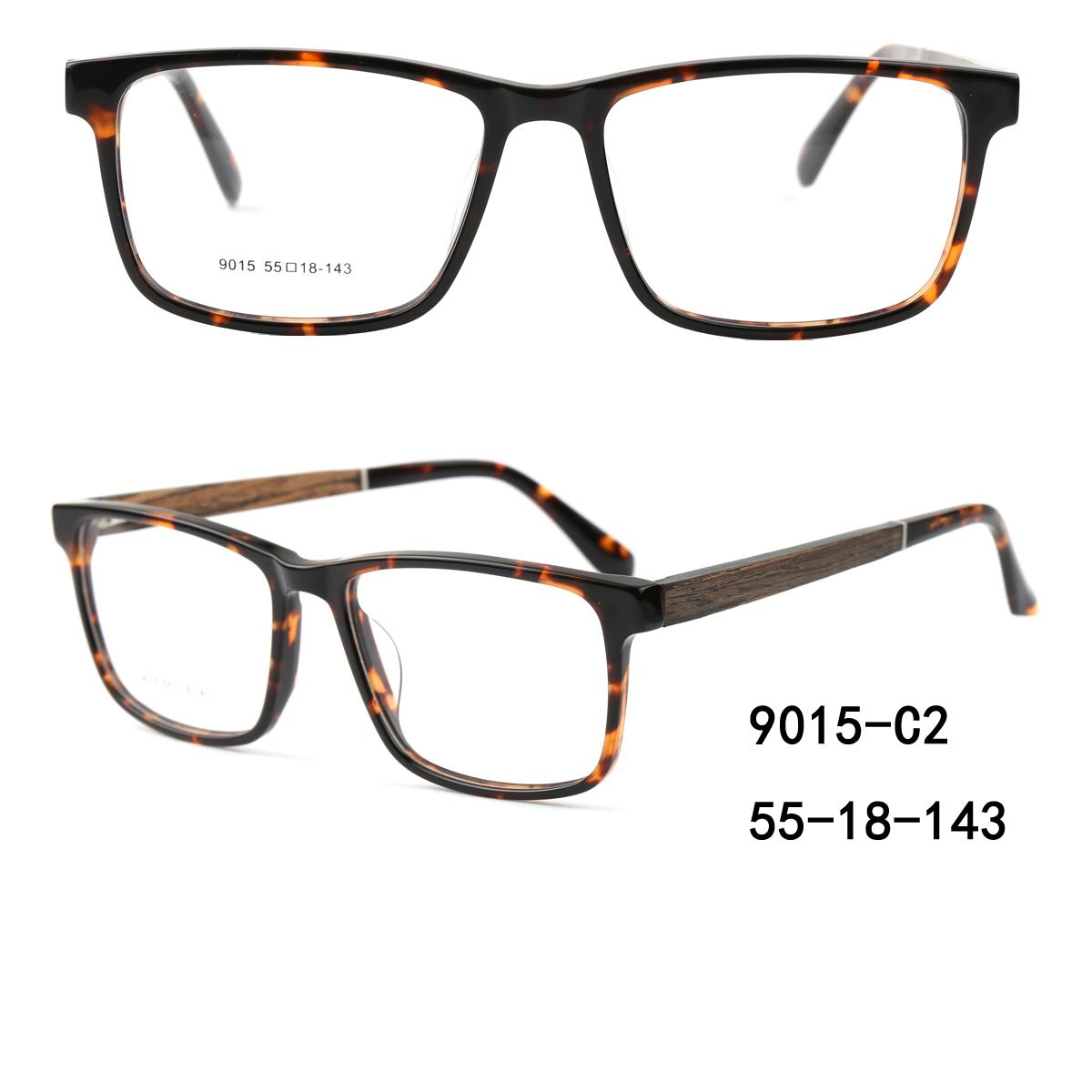 acetate wooden eyeglass optical frames wholesale manufacturer