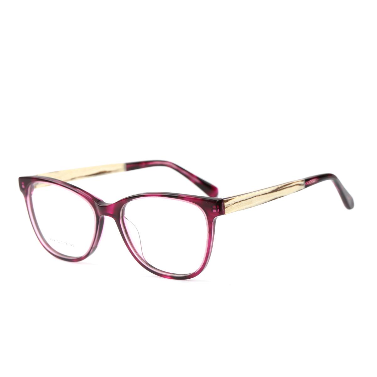 Wooden Spectacle Eyeglass(Eyewear) Frames For Wholesale-Popeyewear