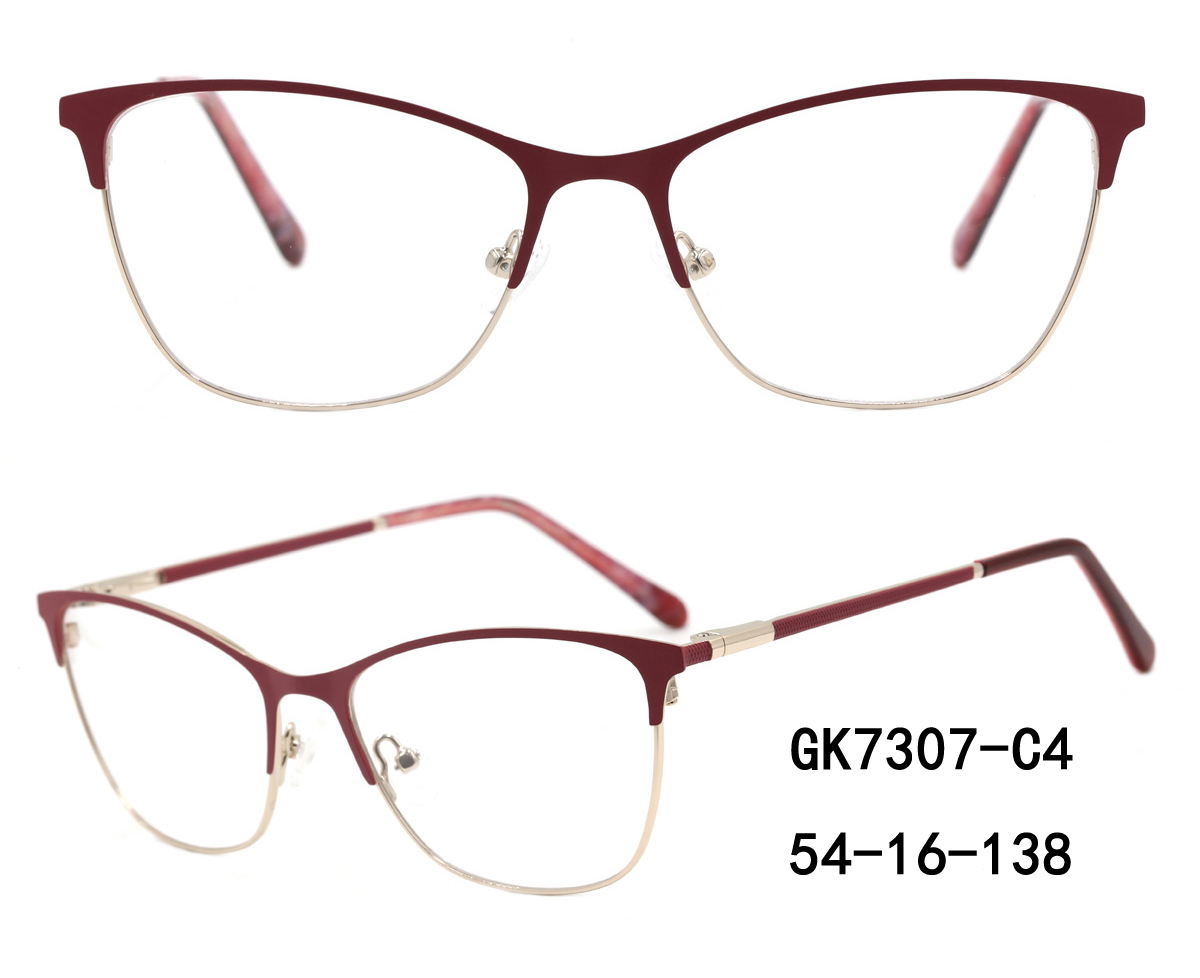 Retro Optical Eyewear Frames Manufacturer,Metal Eyeglass Frame Factory