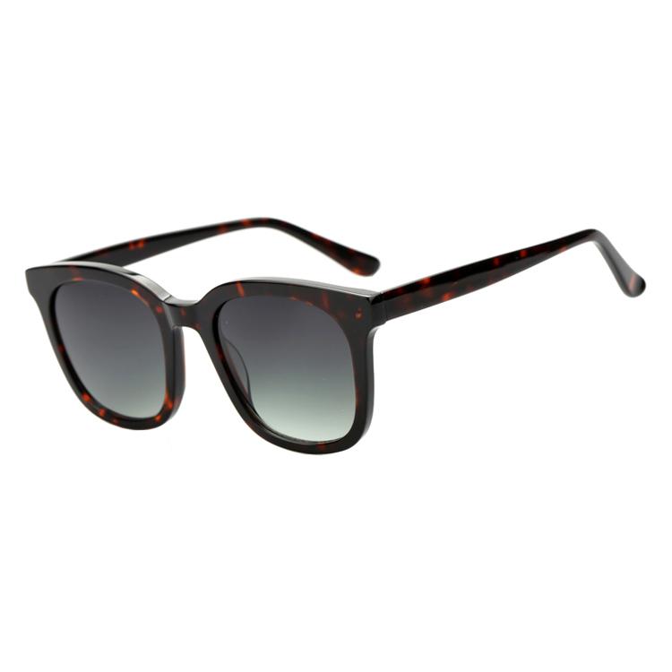 unisex oversized acetate sunglasses