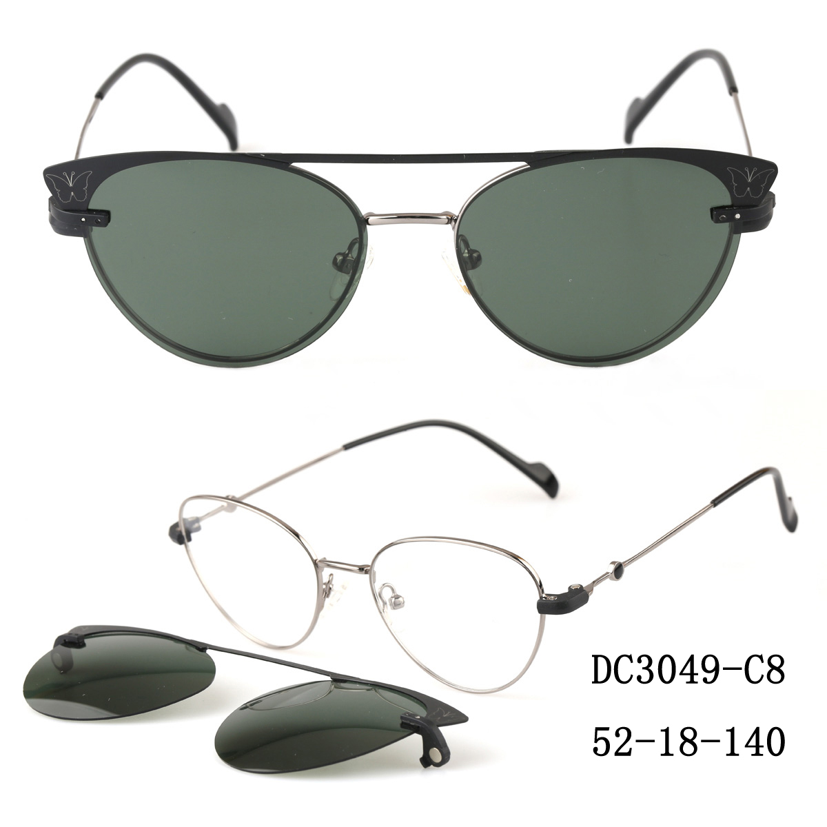 Clip On Shades For Glasses Wholesale, Oem Odm Clip On Sunglasses Shades