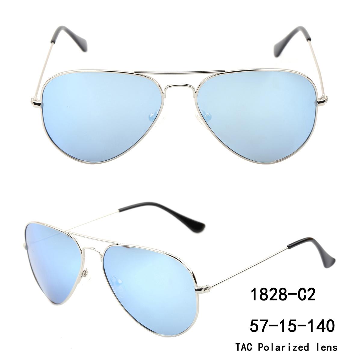 400 Uv Protection Aviator Sunglasses,Oversized Metal Frame Men Polarized Sunglasses Oem Odm