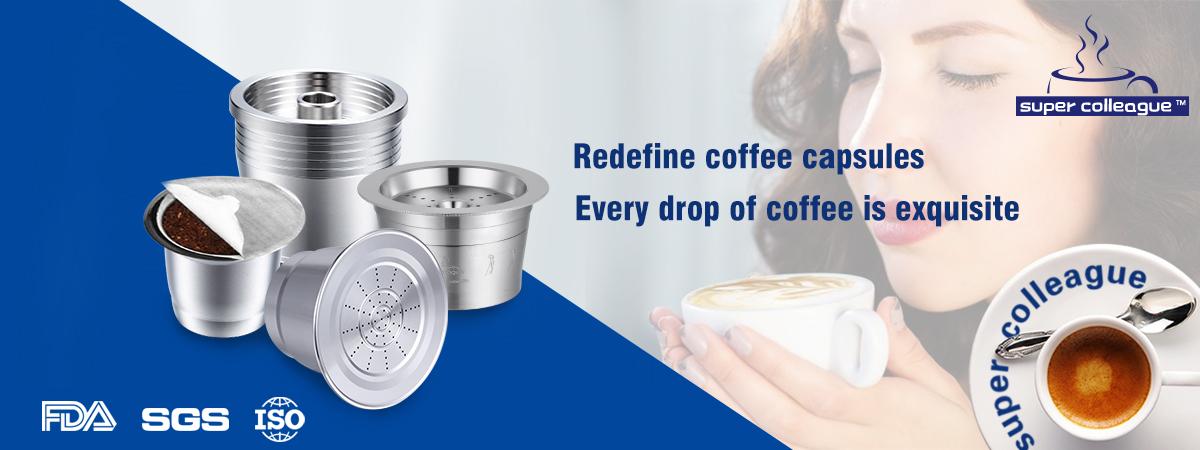 Tchibo Cafissimo Caffitaly 可重复使用的咖啡胶囊