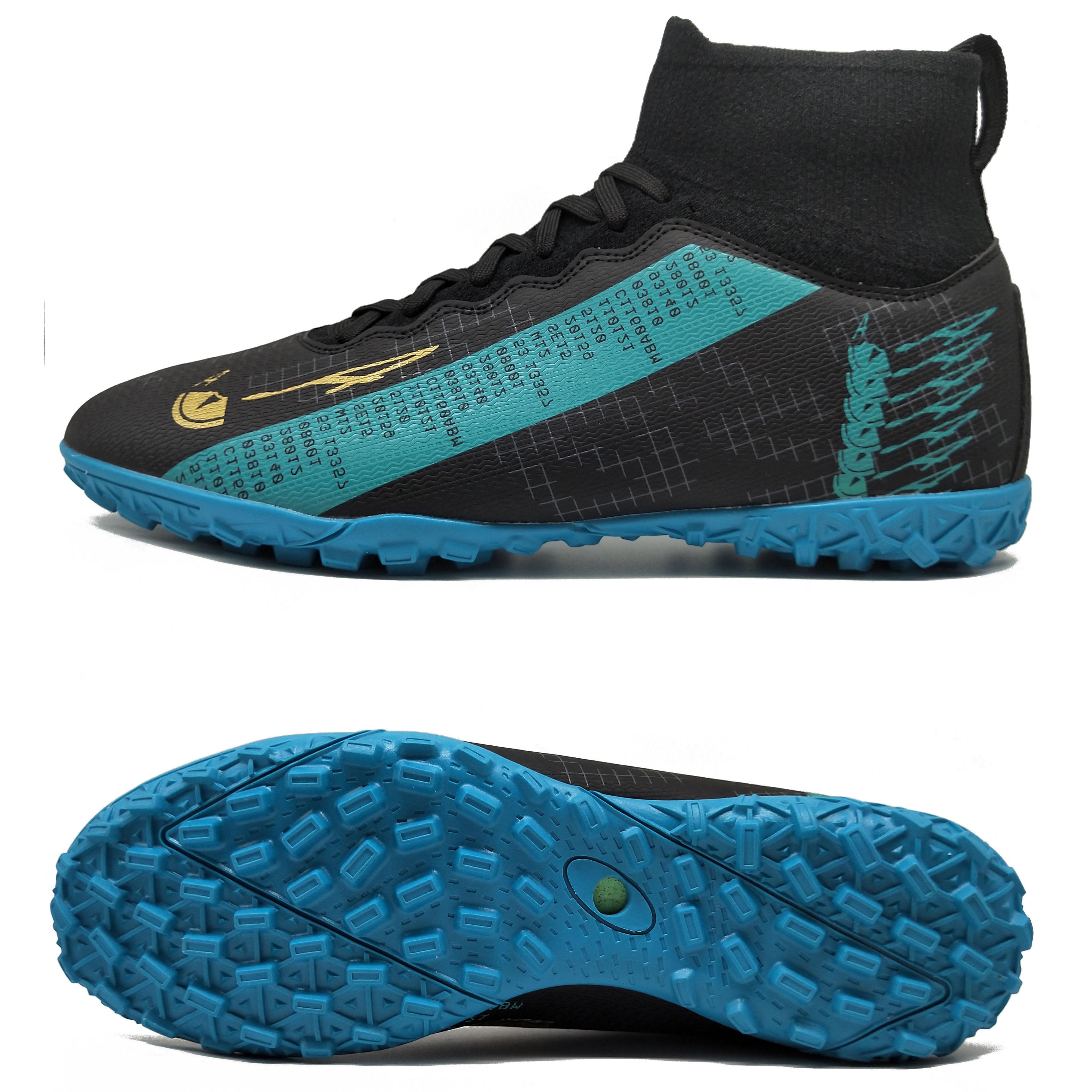 high cut men soccer cleats boots shoes wholesale