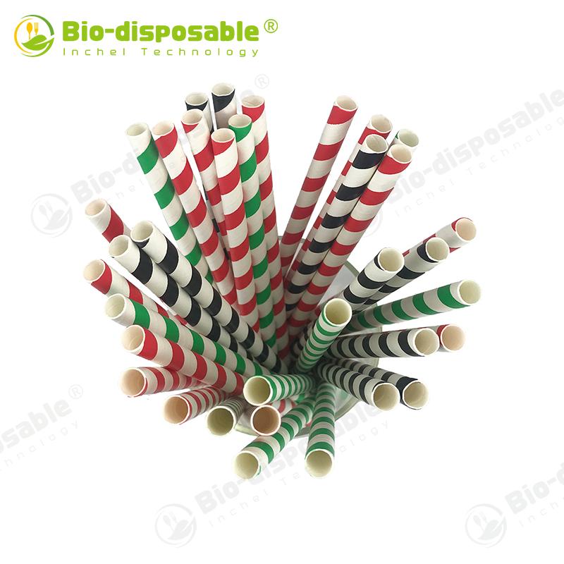 Paper Straw - Stripe Color