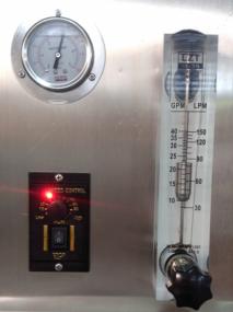 Pressure gauge & Flow meter