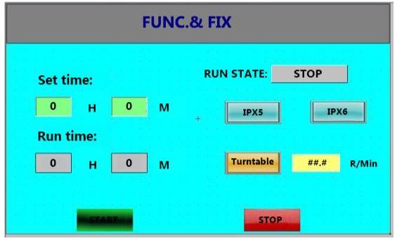 PLC operation interface
