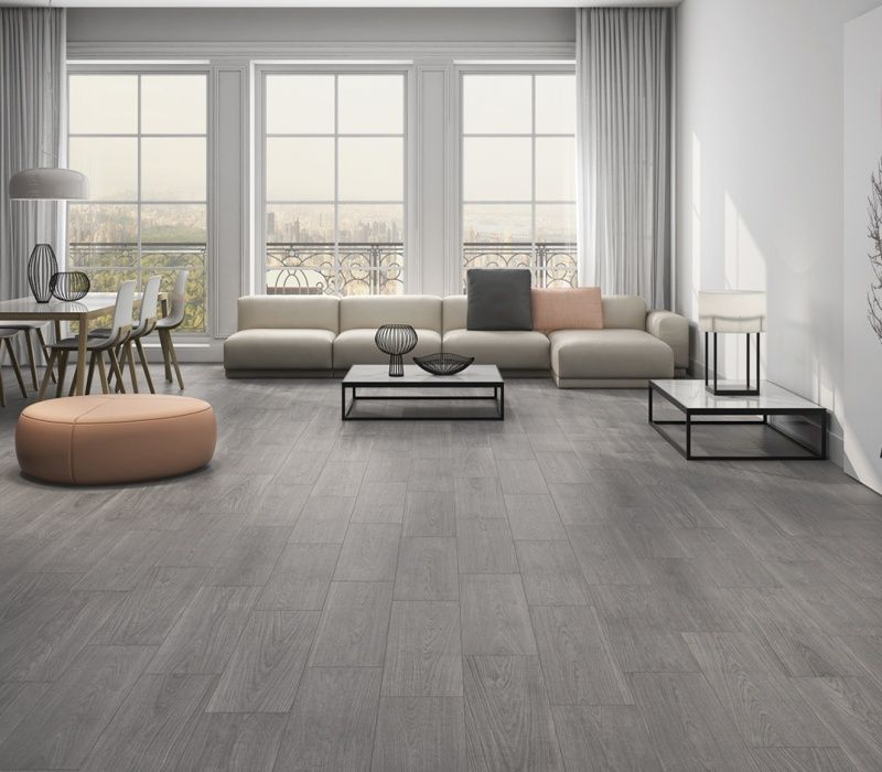 "8""x48"" Wood Look ceramic Floor Tile outdoor flooring tile wholesale supplier"