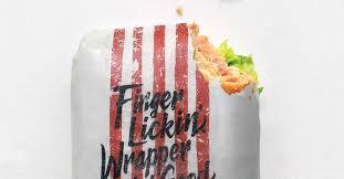KFC edible wrapper