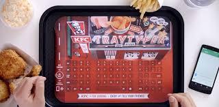 KFC food liner paper
