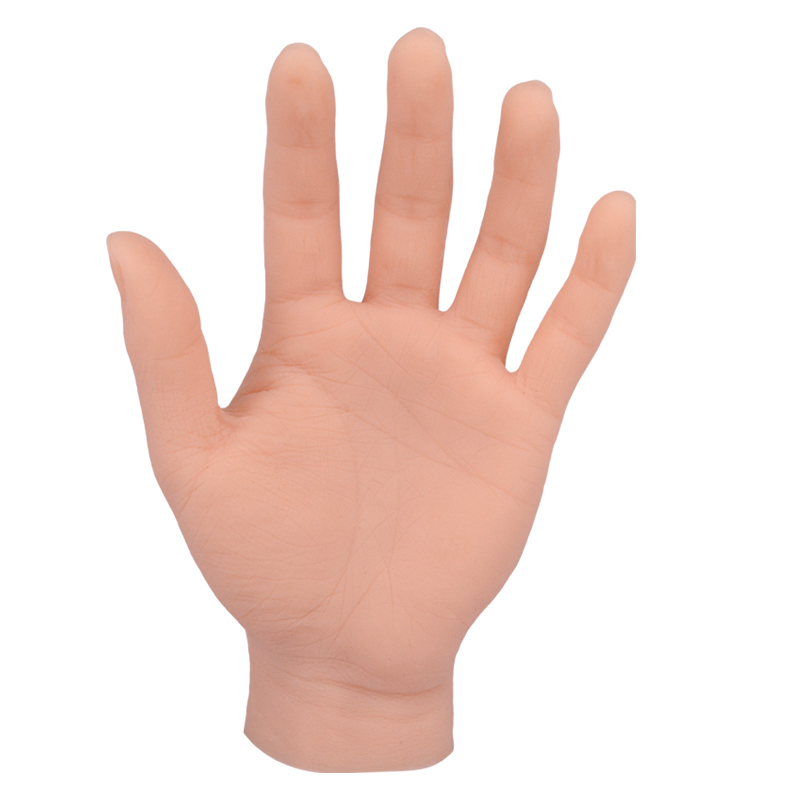 Lifelike Silicone Practice Model Soft Artificial Mannequin Hand For Jewelry Watch Display Tattoo Training