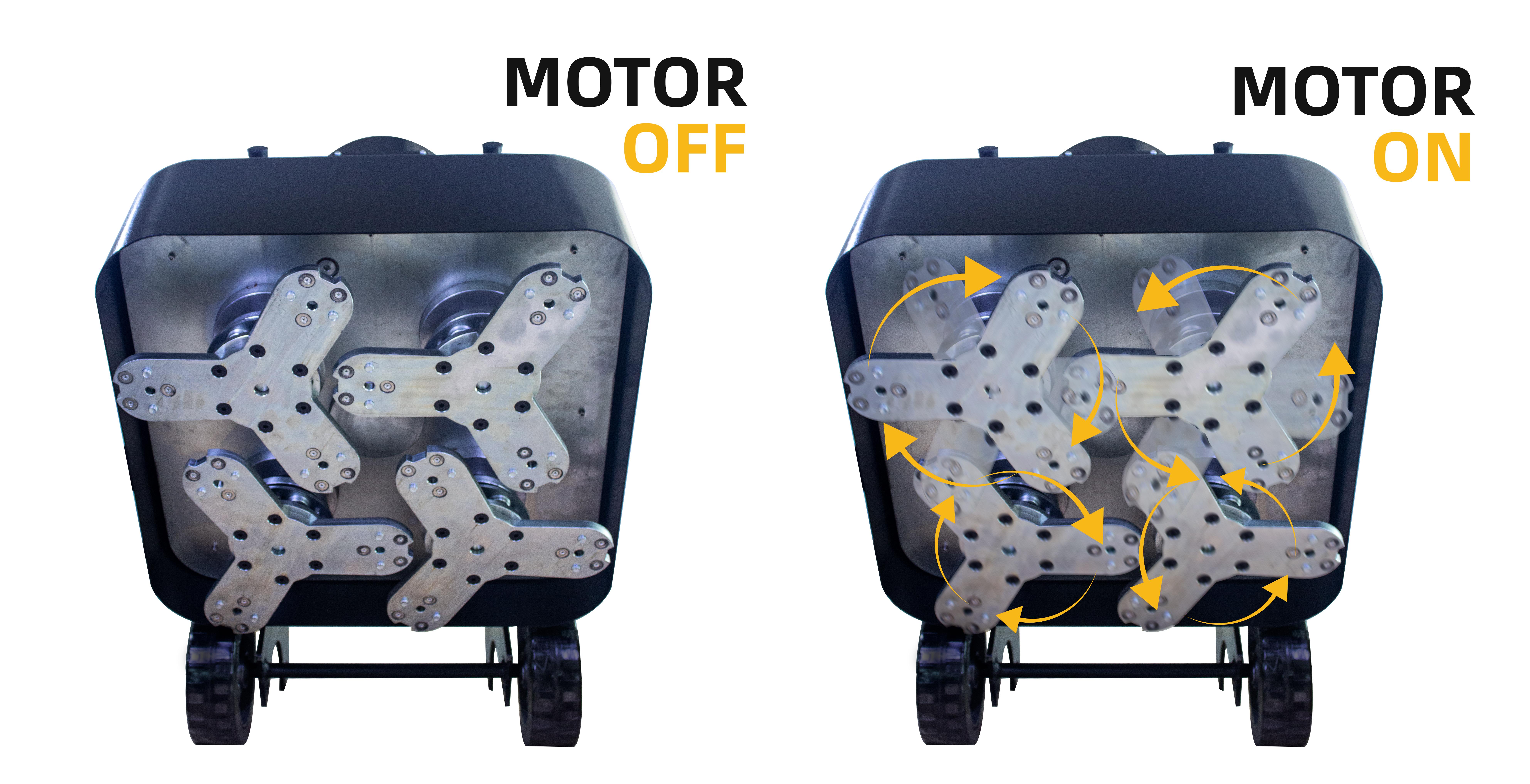 Driven Floor Grinding Machine