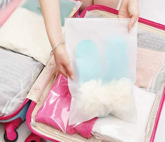 frosted ziplock bag supplier