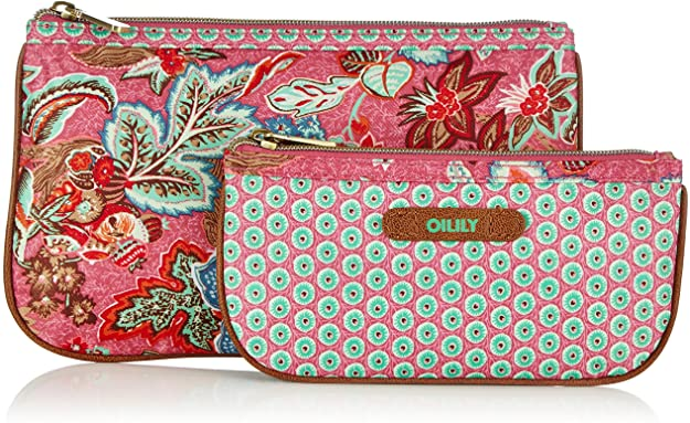 oilily flat cosmetic bag package