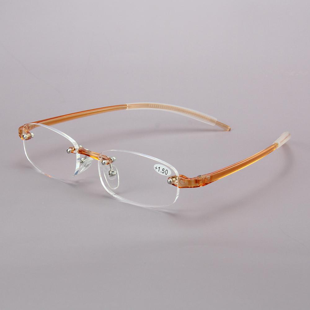 YJ028 Rimless Reading Glasses