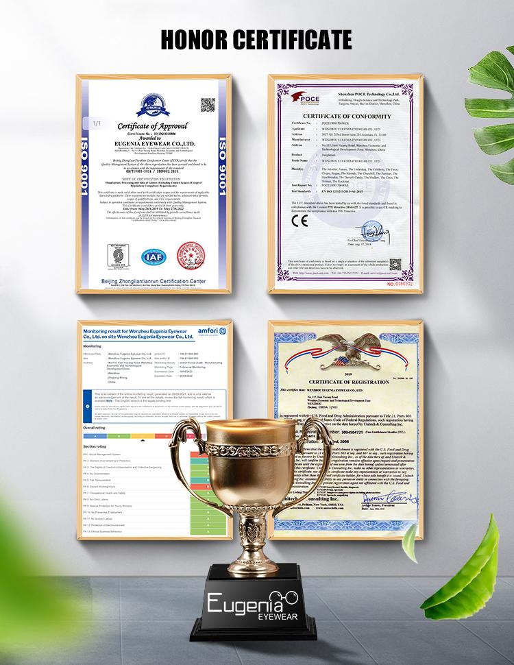 EUGENIA Certificate