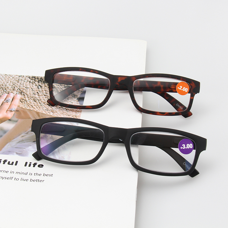 Spring Hinge Reading Glasses Combination Chart