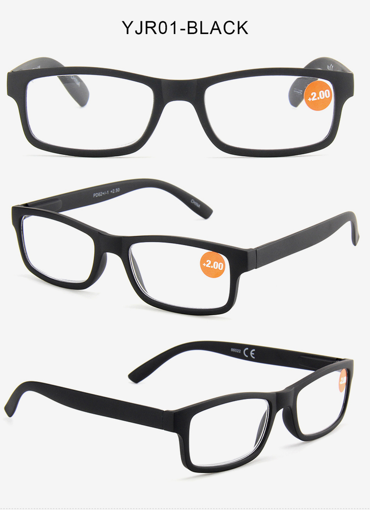 Different angle display of Spring Hinge Reading Glasses