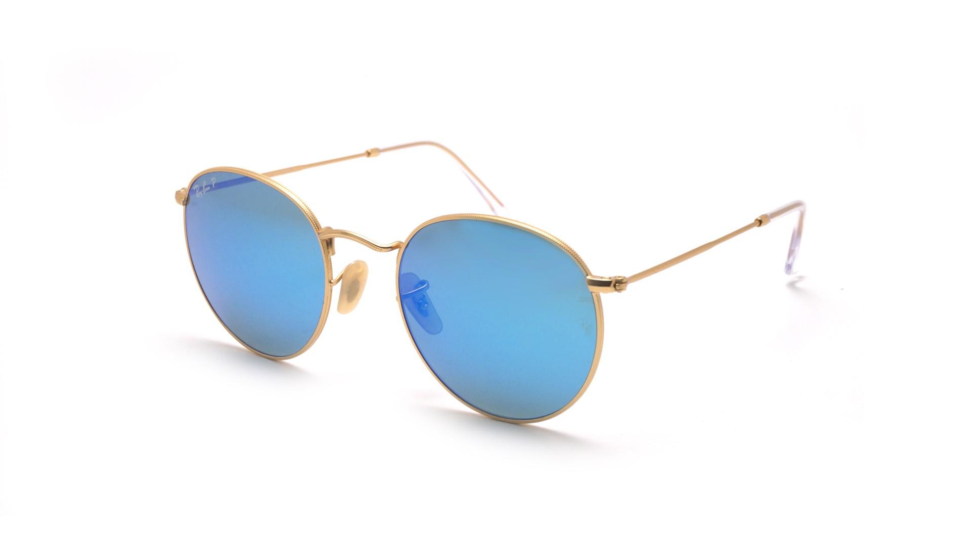 Round polarized Metal Sunglasses wholesale.jpg