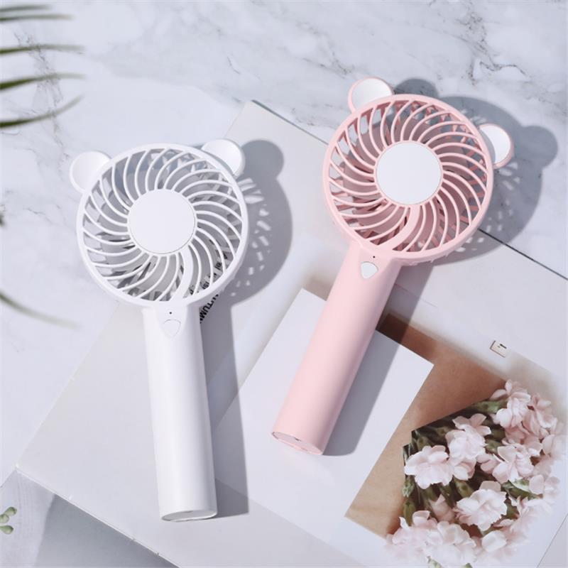 custom mini usb handheld fan