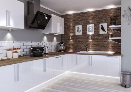 kitchen room with the good kitchen waste drainer
