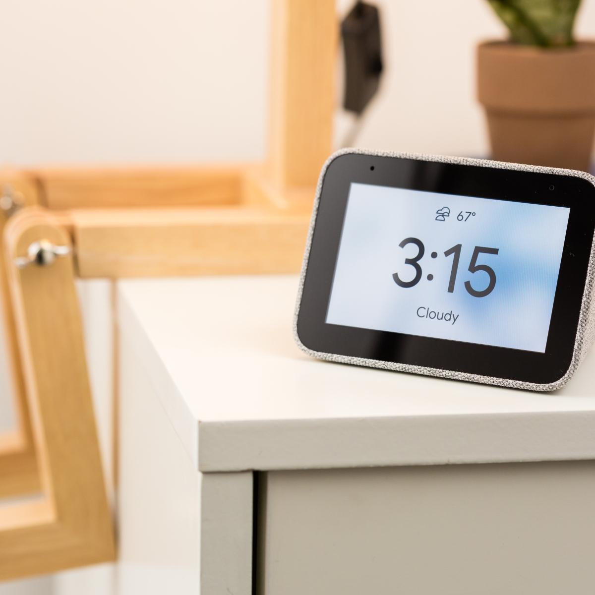 digital weather forecast clock